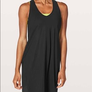 NWT! Lululemon. Rejuvenate Dress. Black. Size 8.